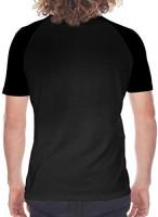 Jinjer Summer Mans Classic Baseball Short Sleeves Tshirts Raglan Sleeve T Shirts Black: Clothing