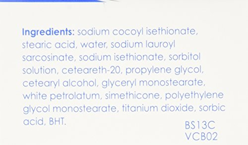 Vanicream Cleansing Bar 3.9 oz For Sensitive Skin, Pack of 4: Beauty