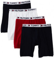 Tommy Hilfiger Men's Underwear 4 Pack Boxer Brief at Men's Clothing store