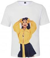 Selena Quintanilla Unisex Stylish 3D Printed Graphic Short Sleeve T-Shirts for Women Men: Clothing