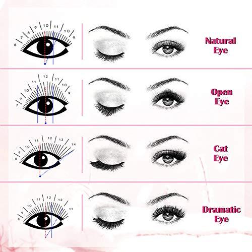 LANKIZ Eyelash Extensions Individual Lashes 0.15mm C Curl 8-15mm Mink Eyelash Extension Supplies Classic Lash Extensions Professional : Beauty