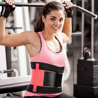 SZ-Climax Lumbar Support Belt - Back Brace Support Belt Waist Trainer Trimmer Cincher Sweat Belt Postpartum Recovery Body Shaper for Weight Loss, Lower Back Pain for Women Men: Sports & Outdoors