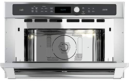 "GE CSB9120SJSS Cafe Advantium 30"" Stainless Steel Electric Single Wall Oven - Convection: Appliances"