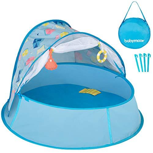 Babymoov Aquani Tent & Pool - 3 in 1 Pop Up Tent, Kiddie Pool and Play Yard : Baby