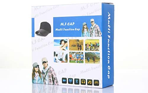 Hidden Portable Camera Covert Cam - Full HD 1080P Mini DV Recorder with Wireless Remote Control for Learning Business Meeting Outdoor Sports Hat Built-in 32G TF Card@HopeGem: Home Improvement