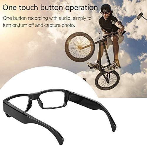 1080p HD Glasses Camera, Video Recording Camera Sunglasses Polarized Protection Safety Lenses with Sport Design, Suitable for both Men and Women: Home Improvement