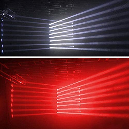 2PCS Moving Head Lights, 4-in-1 8x10W LED Moving Head Stage Lights DJ Moving Head Beam Bar RGBW DMX512 Sound Activated Strobe Effect Stage Lighting for Disco KTV Club Party Wedding