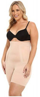 SPANX Women's Plus Size Oncore High-Waisted Tummy Control Mid-Thigh Short at Women's Clothing store