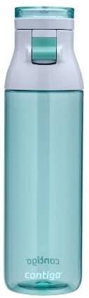 Contigo Jackson Reusable Water Bottle, 24 Oz, Greyed Jade: Sports Water Bottles: Kitchen & Dining