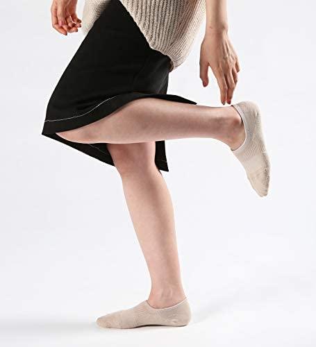 Pro Mountain No Show Socks - Ball Cushion Cotton Footies Liner Women Ladies Low Cut: Clothing