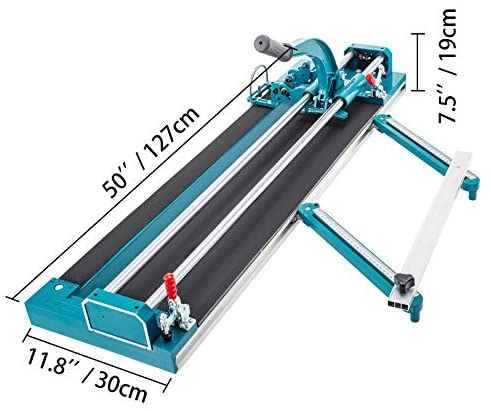 Mophorn 39Inch/1000mm Tile Cutter, Double Rail Manual Tile Cutter 3/5 inch Cap w/Precise Laser Positioning, Manual Tile Cutter Tools for Precision Cutting (39 inch)