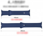 Applicable to Apple Sports Silicone Watch iwatch1\2\3 with strap for apple watch4