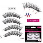 Glue-free Magnets False Eyelashes Handmade Nude Makeup Natural Models 3D Sharp Point Magnetic Eyelashes