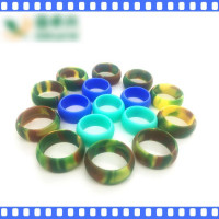 Lifetime Coverage, Unique Design, Silicone Ring for Men