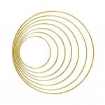 High-end Home Decoration Metal Dream Catcher Wind Chimes Golden Floral Big Circle Welding Big Iron Ring Welding Big Iron Ring