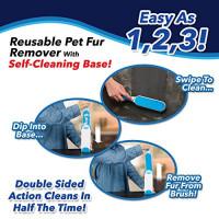 Fur Wizard Sticky Brush Pet Brush Hair Sticky