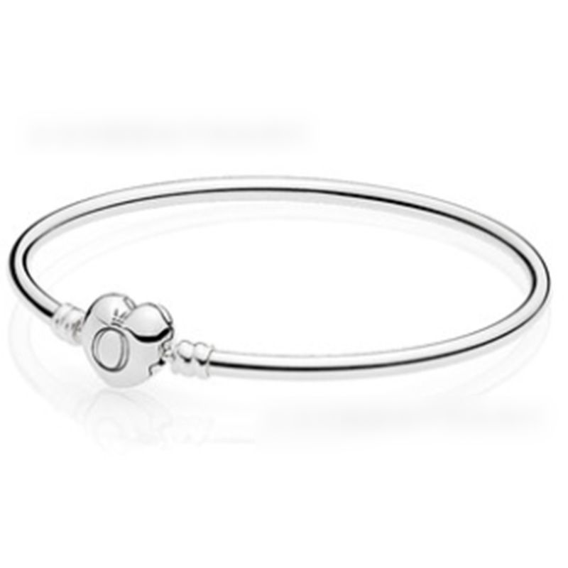 Love Head Bracelet Bracelet Shine Heart-shaped Chain Link Simple And Exquisite Jewelry Women