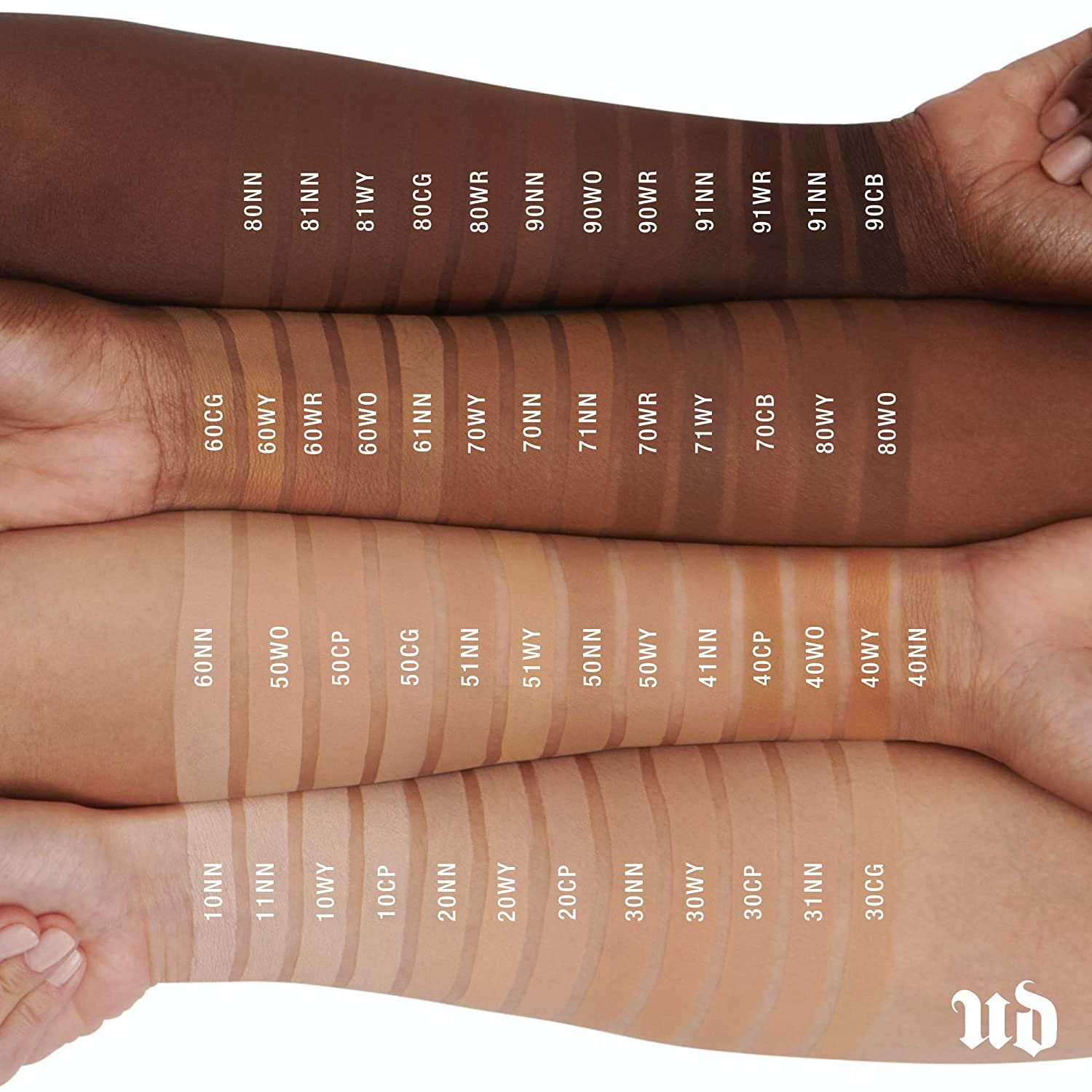 URBAN DECAY ~ STAY NAKED WEIGHTLESS LIQUID FOUNDATION