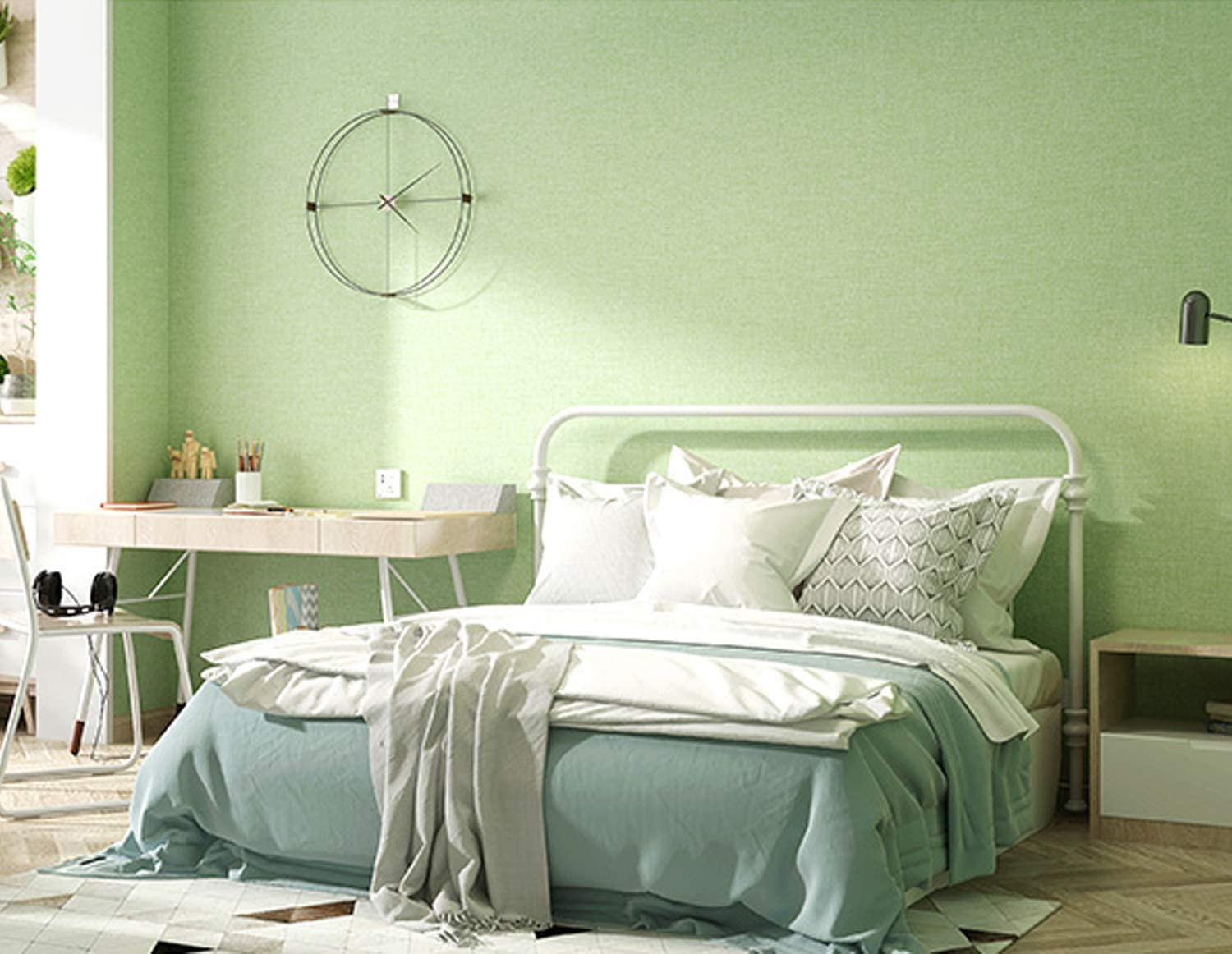 Wholesale Green Contact Paper Peel and Stick Wallpaper ...