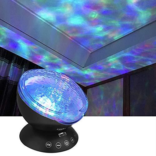 Ocean Wave Led Night Mood Light Lamp Projector For Kids