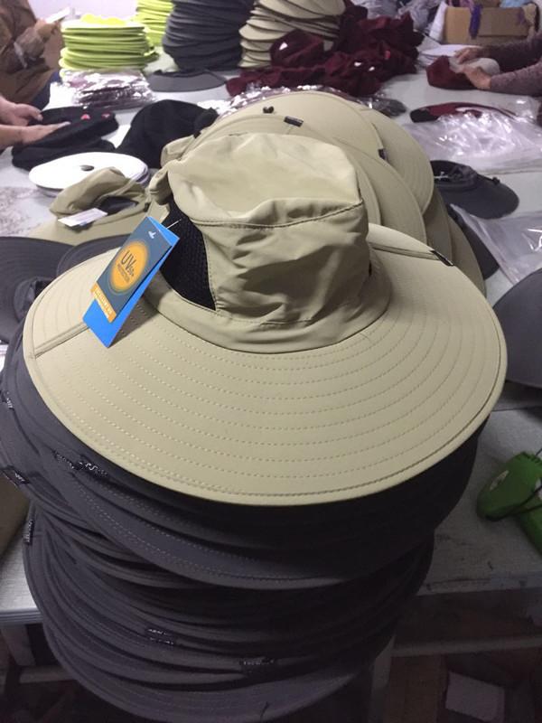 Waterproof Breathable Sun Protection Wide Brim Bucket Hat