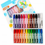 Cartoon Color 12 Color Oil Painting Stick Six-angled Painting Pen