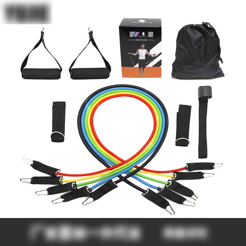 Latex Tube Stackable Exercise Band