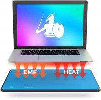 "DefenderPad Laptop EMF Radiation Protection & Heat Shield - Anti Radiation Laptop Computer Pad & EMF Blocker Lap Lapdesk Compatible with up to 17"" Notebook, Chromebook, MacBook: Computers & Accessories"