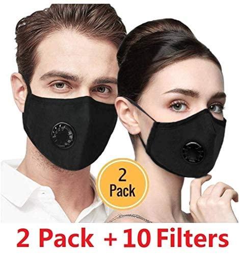La Volupte 10pcs PM2.5 Activated Carbon Filter Replaceable Anti Haze Filter Paper for Mask