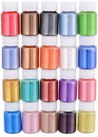 Mica Powder, Mica Pigment Powder, Handmade Soap Making Tools, Powder Pigments, Soap Liquid, 20 Colors Red Gold Blue, Resin Dyestuffs Candle Making, Eye Shadow, Blush, Nail Art, Resin Jewelry, Artist