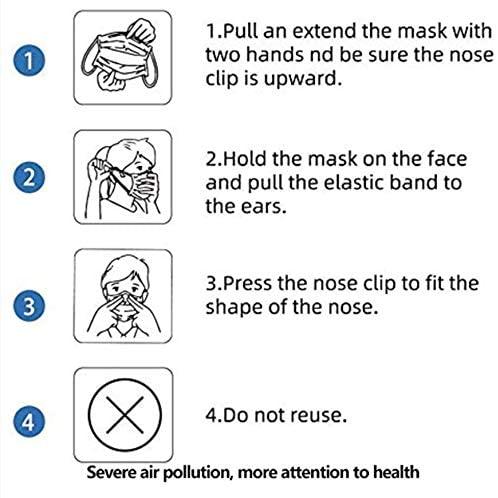 5 PCS Disposable Mouth Mask Face Mask