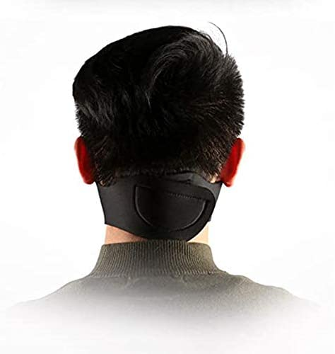 HotMall-US Protective face and Mouth,Unisex,Washable, Reusable Unisex PM2.5 Anti-dust Windproof Breathable Outdoor Sport Cycling Facial Mouth Protection Black 4pcs: Home & Kitchen