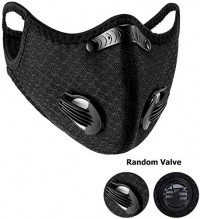 Face Filter Safety, Nylon Spandex Activated Carbon Windproof Dust-Proof for Filter Safety: Clothing