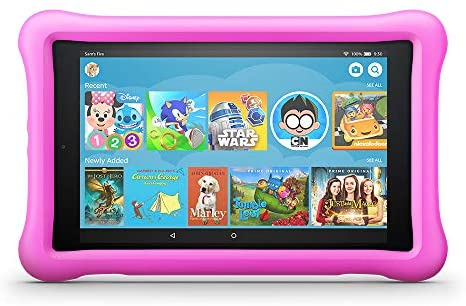 "Fire HD 8 Kids Edition Tablet 2-Pack, 8"" HD Display, 32 GB, Kid-Proof Case - Pink/Yellow: Kindle Store"