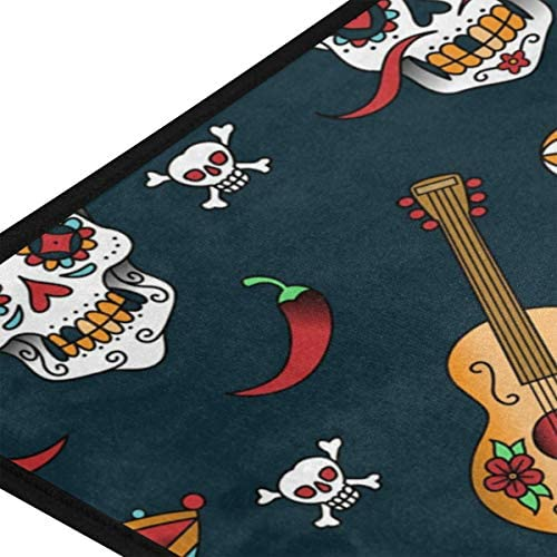 ALAZA Sunflower Standing Mat Kitchen Rug Mat, Comfort Flooring, Commercial Grade Pads, Absorbent, Ergonomic Floor Pad, Rugs for Office Stand Up Desk, 39x20in : Clothing