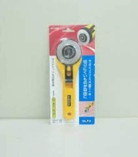 The maximum sharpness / Made in Japan /OLFA 60 mm tungsten steel Big Rotary Cutter & 60mm Rotary Blade Refill, 1-Pack Value Set (with our shop original description of goods)
