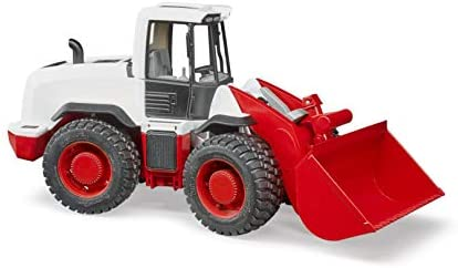 Bruder 03410 Front End Loader for Sandbox, Farm and Construction Pretend Play: Toys & Games
