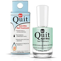 Duri Nail Treatment, Quit Anti Bite, Stops Nail And Cuticle Biting, 0.3 fl.oz. 10 ml. : Beauty