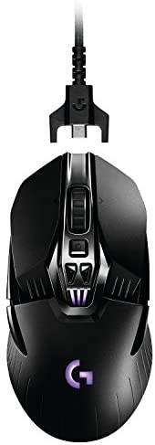 Logitech G900 Chaos Spectrum Professional Grade Wired/Wireless Gaming Ambidextrous Mouse(Renewed): Computers & Accessories