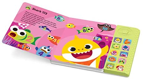 Pinkfong Baby Shark Official Sound Book: Pinkfong: Toys & Games