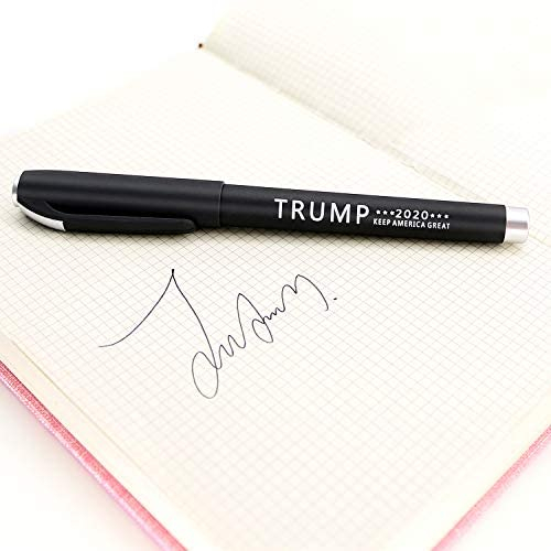 Trump For 2020 President Election Pens Keep America Great Pens- Donald Trump Gifts Pack of 12 : Office Products
