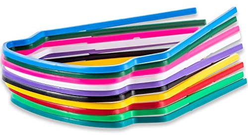 Clear Disposable Medical/Dental Replacement Eye Shield Lenses - 100 PCS Lenses- Frames NOT Included (100 Eye Shield Lenses only)