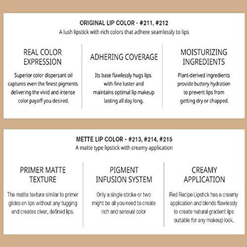 3CE Red Recipe Lip Color Mini Kit : Beauty
