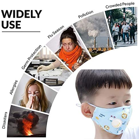 50Pcs PM2.5 Filter for Adult Mask Filters Activated Carbon Insert Protective Mouth Mask Filter