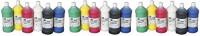 Sax True Flow Heavy Body Acrylic Paint, Quarts, Assorted Colors, Set of 6 - 409812: Industrial & Scientific