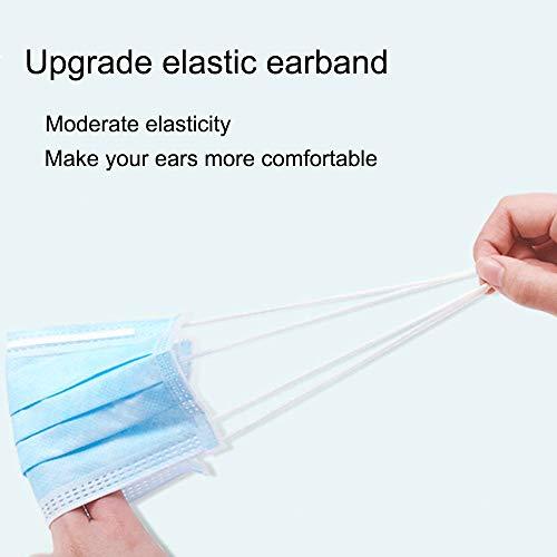 EBEIZZI Disposable Respirator-Three Layers-(50 Pack): : Industrial & Scientific