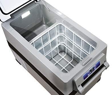 Alpicool CF45 Portable Refrigerator/Freezer 48 Quart Vehicle, Car, Truck, RV, Boat, Mini Fridge Freezer for Driving, Travel, Fishing, Outdoor-12/24V DC -4°F to 68°F: Automotive