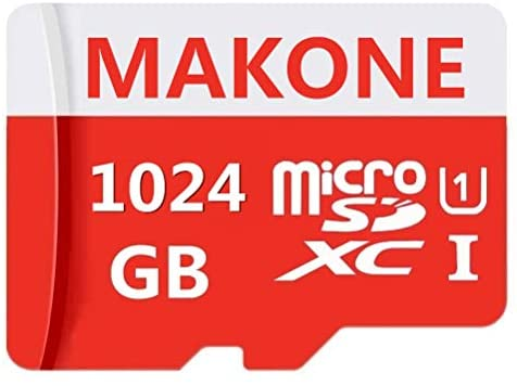 MAKONE 1TB Micro SD Card Class 10 High Speed 1024GB Memory Card for Phone, Tablet and PCs with Adapter: Computers & Accessories