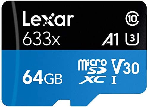 Lexar High-Performance 633X 256GB MicroSDXC UHS-I Card: Computers & Accessories