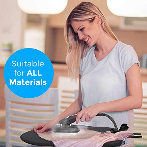 Professional Series Garment Steamer Accessories for Clothes Dual-Pro Iron, Perfect for sterilizing and disinfecting, 1800 Watt Power and a Large Water Tank, Built-in Ironing Board and Garment Hanger: Kitchen & Dining